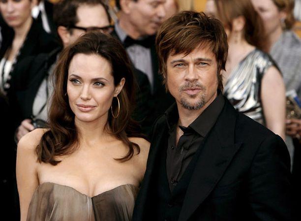 Angelina Jolien ja Brad Pittin suhde on lehtitietojen mukaan kriisissä.