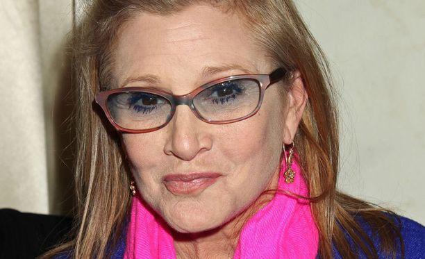 Carrie Fisher kuoli 27.joulukuuta.
