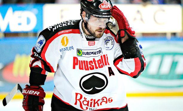 Tapio Sammalkangas sai kahden ottelun pelikiellon.