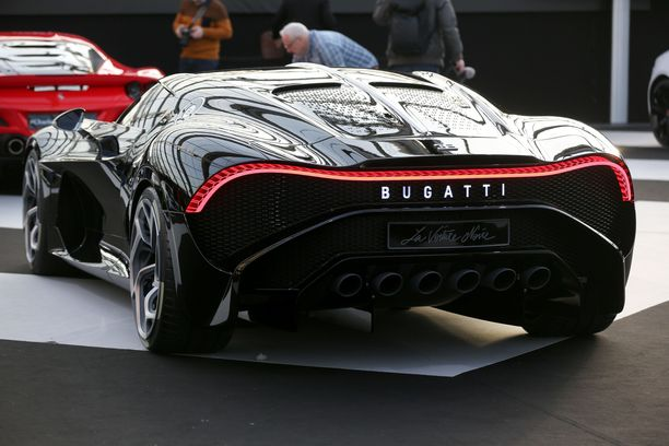 Sähkölle vai ei? Bugatti kuuluu Volkswagenin luksusbrändeihin.