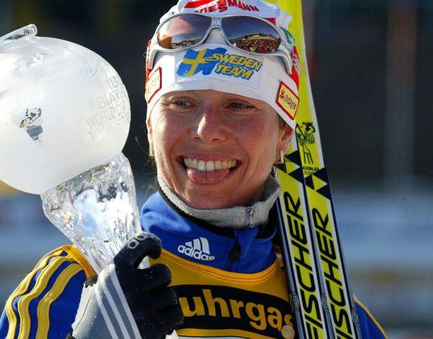 Magdalena Forsberg toivoo Kallasta häntäkin suurempaa tähteä.