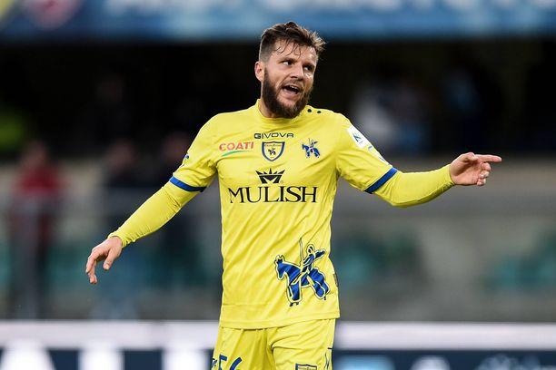 Perparim Hetemaj edustaa tällä hetkellä italialaista Chievo Veronaa.