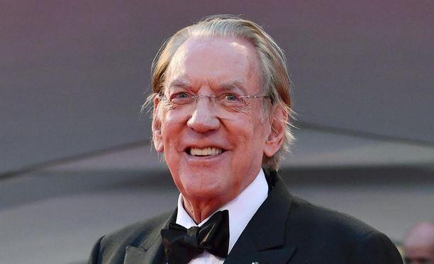 Oscar-raati muistaa Donald Sutherlandia.