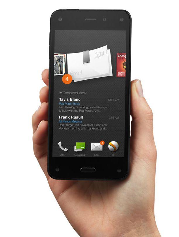 Amazon Firen vetonaulana on 3D-näyttö.