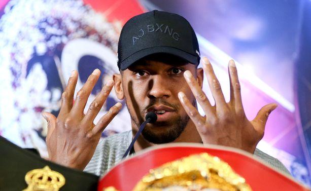 Anthony Joshua kohtaa odotetussa nyrkkeilyottelussa Jarrell Millerin New Yorkissa 1. kesäkuuta.
