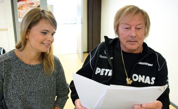 Dannyn ja Erika Vikmanin show pysähtyi Helsingin Lauttasaaressa.