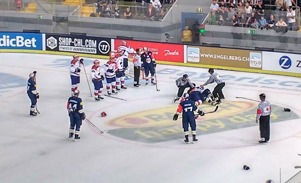 HIFK:n ja Red Bull Münchenin CHL-ottelu keskeytyi toisessa erässä.