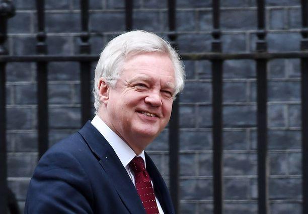 David Davis vastaa Britannian EU-erosta.