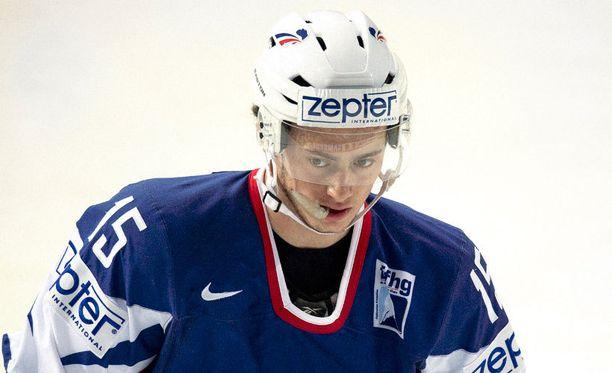 Tim Bozon edusti Ranskan MM-joukkuetta vuonna 2013. Vakavan sairastumisen jälkeen huippulupaus on palaamassa kaukaloon.