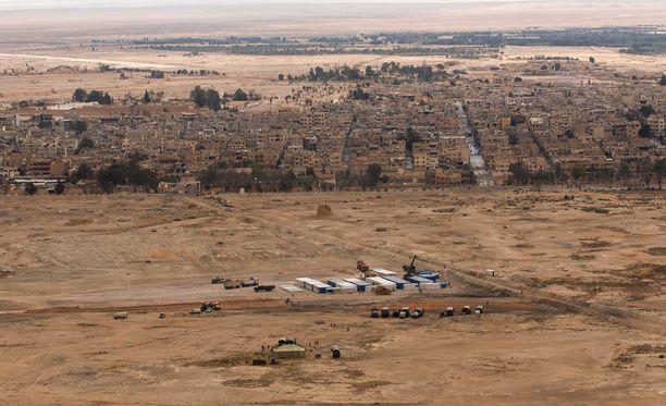 Tulitauko laajenisi Aleppon kaupungista koko maahan.