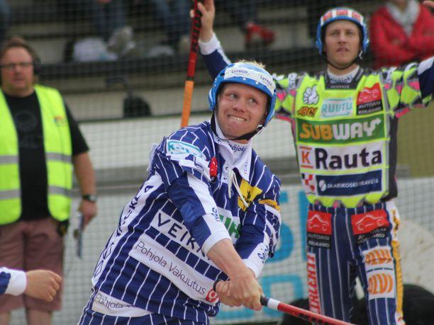 Teemu Nurmio pelasi Seinäjoella toisen Itä–Länsi-ottelunsa.