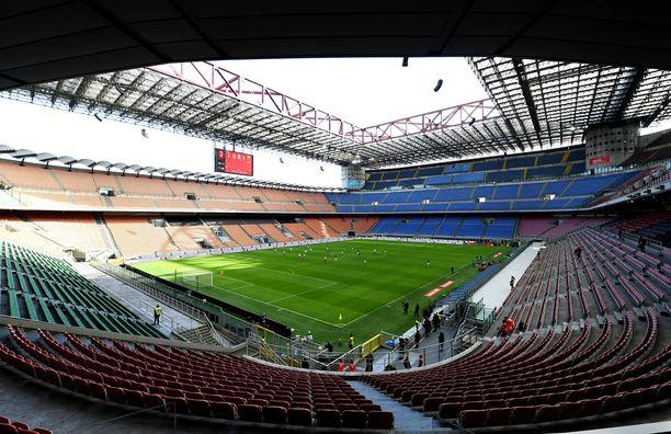 Milanolaisjoukkueet haluavat vaihtaa kotikenttäänsä.