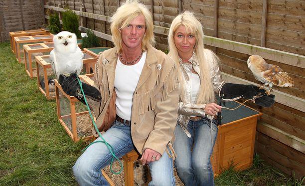 Steve ja Claire Lucock silloin, kun kaikki oli vielä hyvin. Pari nähtiin eläimineen Britain's Got Talent -kykyrealityssäkin.