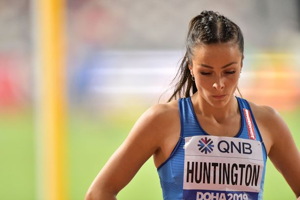 Maria Huntington oli pahoinvoiva torstaina.