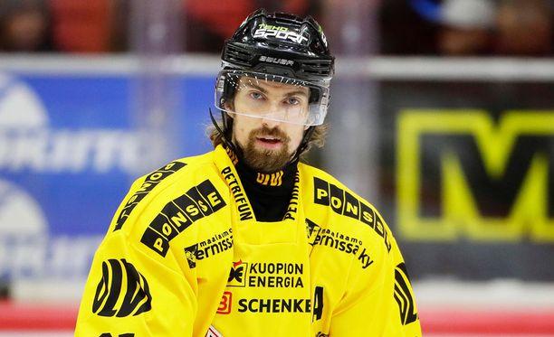 Kai Kantola laukoi ottelun voittomaalin.