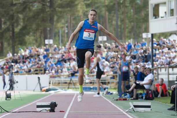 Kolmiloikkaaja Simo Lipsanen on Suomen toiseksi vahvin kortti Lontoossa.