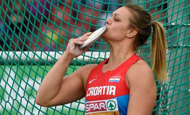 Sandra Perkovic on kiekonheiton valtiatar.