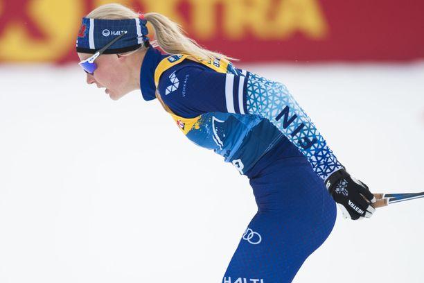 Anne Kyllönen oli sprinttikarsinnassa hienosti viides.