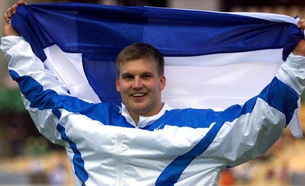 Aki Parviainen, keihäänheiton maailmanmestari 1999.