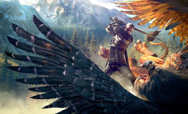 Witcher-luoja ja pelinkehittäjä ovat napit vastakkain.