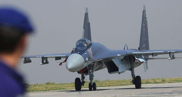 Venäläishävittäjän epäillään käyneen Suomen ilmatilassa Hangon edustalla.