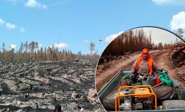 Arto Tuisku miettii, ettei Ruotsissa riitä alan ammattilaisia joka paikkaan. Palomiehiä Suomesta lähti viikonloppuna avuksi.