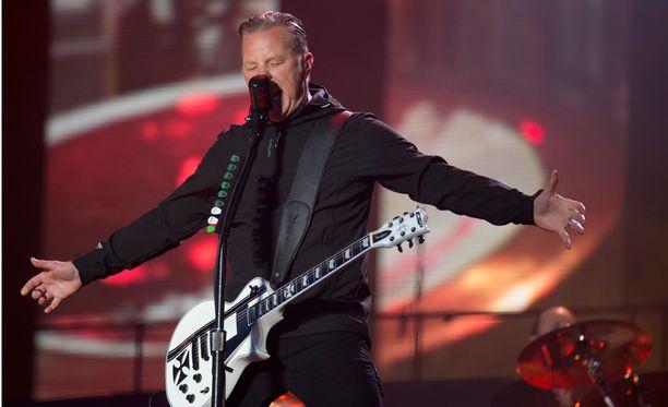 James Hetfield kiehui raivosta Grammy-mokan jälkeen.
