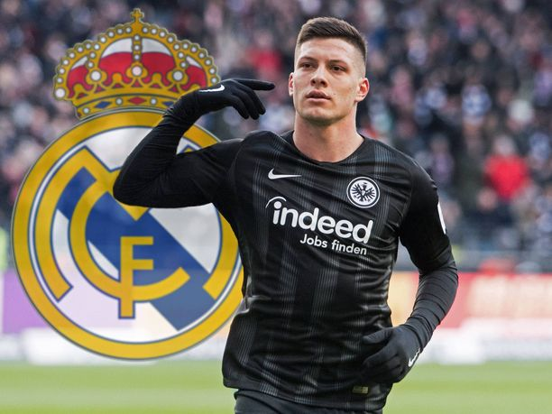 Luka Jović jatkaa uraansa Real Madridissa.