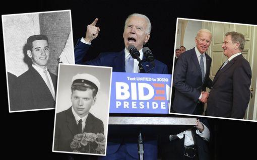 """Onko tuleva presidentti Joe Biden USA:n Sauli Niinistö? Tällainen on tragedioiden karaiseman """"tolkun ihmisen"""" elämäntarina"""