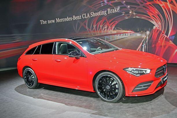 Uusi Mercedes-Benz CLA Shooting Brake.