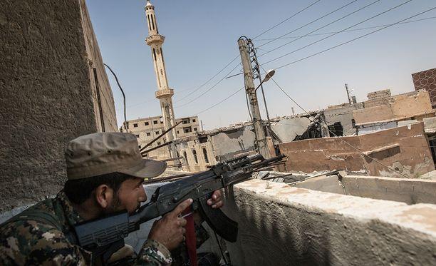Irakin valtiollisen television mukaan virallista tietoa kaupungin vapauttamisesta odotetaan pian.