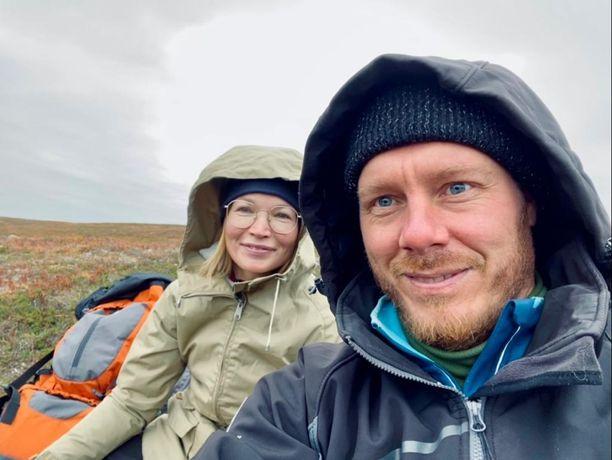 Johanna ja Samuli Leppänen kävivät ruskaretkellä UKK-kansallispuistossa. Kokemus oli hieno.