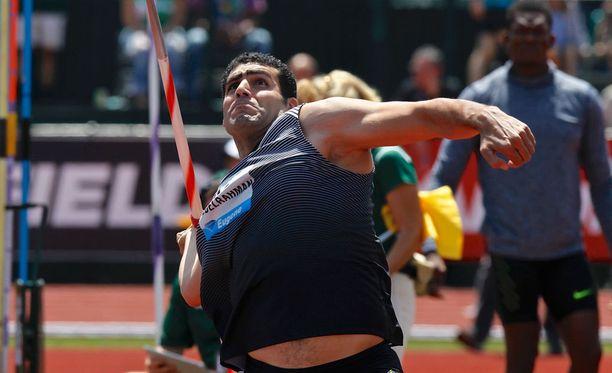 Egyptin olympiakomitea ei päästä Ihab Abdelrahmania Rioon.