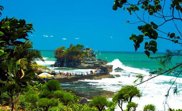 Bali on tunnettu valkohiekkaisista rannoistaan.