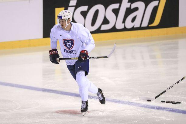 Alexandre Texier ponnisti Suomesta NHL:ään.