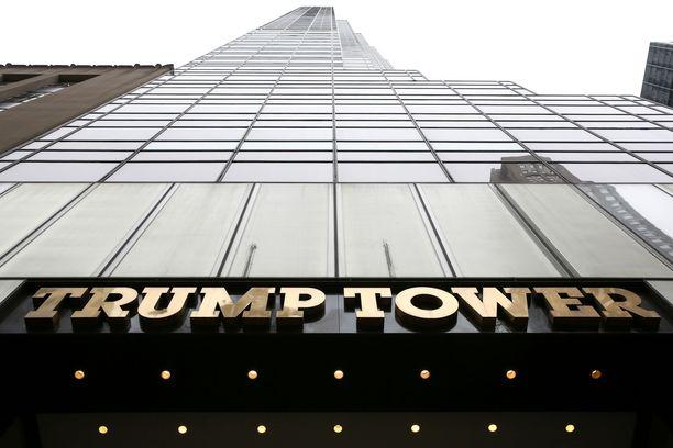 Trump Tower valmistui vuonna 1983.