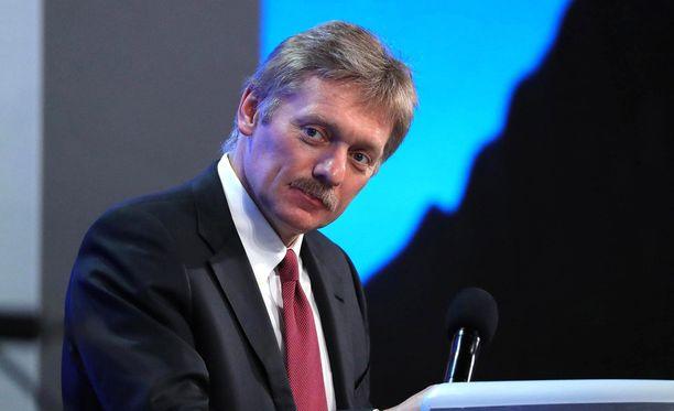 Kremlin tiedottaja Dmitry Peskov.