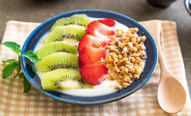 Unohda vehnähötöt aamu- ja välipalalta. Vaihda tilalle proteiinipitoinen jugurtti.