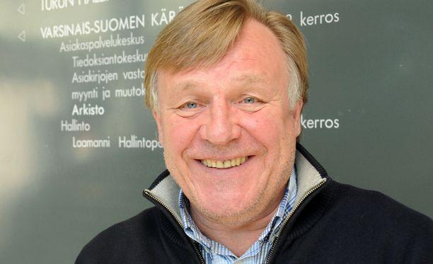 """Heikki """"Super-Hessu"""" Suhonen"""