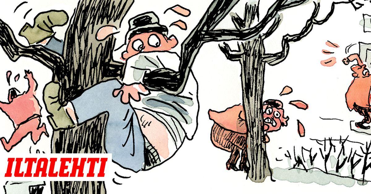 Ville Rannan pilapiirros: ISIS-lapsi lähestyy! Se saattaa näyttää tavalliselta suomalaislapselta!