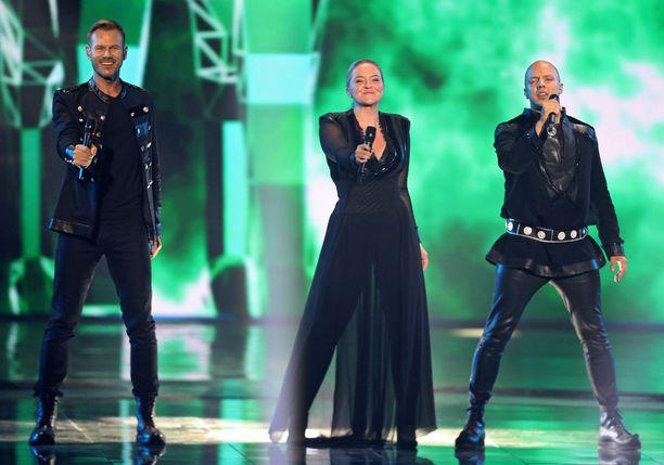 Norjan KEiiNO voitti euroviisujen yleisöäänestyksen. Sen sijoitukseksi ilmoitettiin lauantain finaalissa 5. Norjassa ehdittiin jo juhlia parhaan pohjoismaan titteliä.
