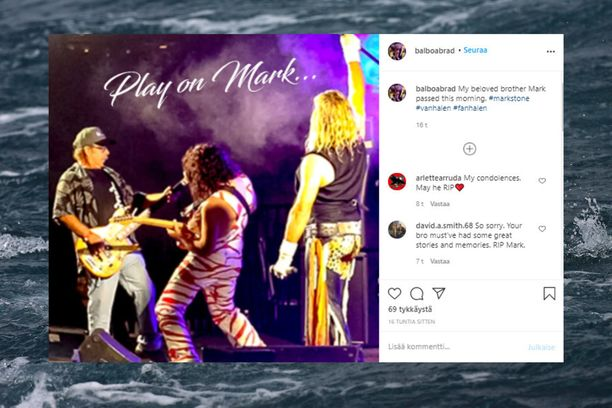 Van Halenin alkuperäisbasisti on kuollut.