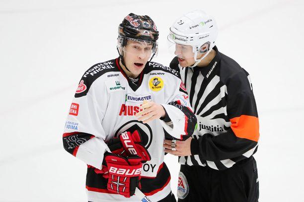Jyri Marttinen tekee paluun Ässät-paitaan.