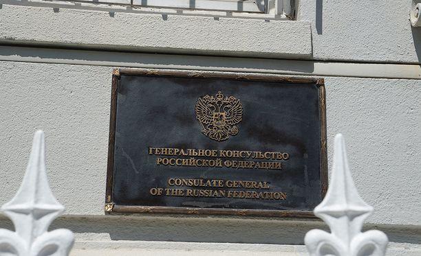 Venäjän konsulaatti San Franciscossa.