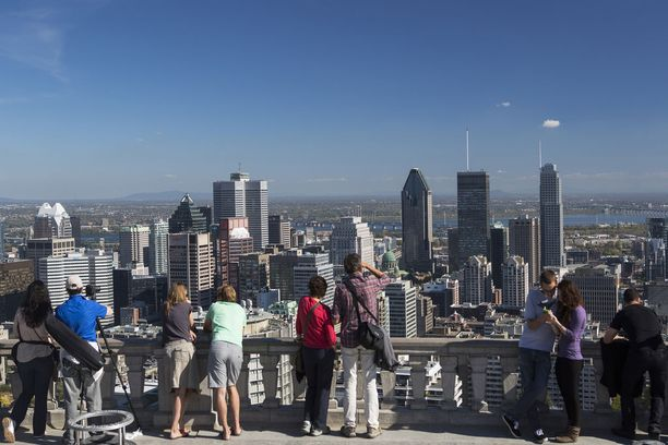 Maailman toiseksi suurin ranskankielinen kaupunki, Montreal, sijaitsee Kanadassa.