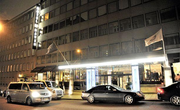 Rikos tapahtui Helsingin Unioninkadulla sijaitsevassa luksushotellissa.