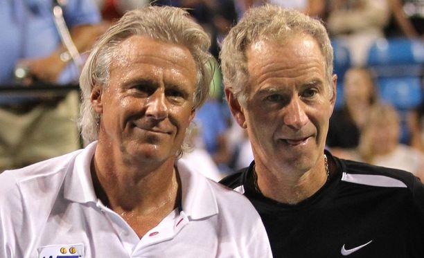 Björn Borg ja John McEnroe ovat yksi tennishistorian ikimuistoisimmista taistelupareista.