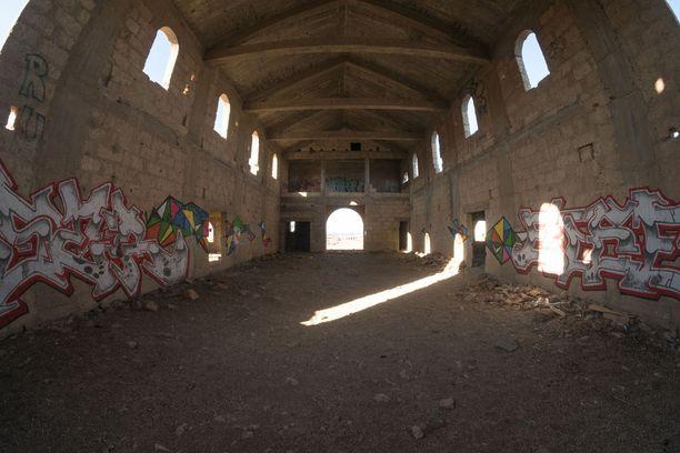 Espanjan armeija käytti tyhjilleen käyneitä rakennuksia kaupunkisotaharjoituksissa.