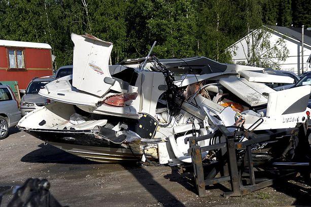 Onnettomuus sattui kesäkuussa Raaseporissa.