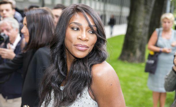 Serena Williams kuvattuna Milanon muotiviikoilla vuonna 2016.